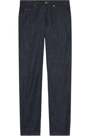 Gucci Uomo Pantaloni - Pantalone in denim effetto délavé