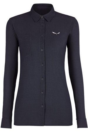 Salewa Donna Maniche lunghe - Puez Minicheck2 Dry - camicia a maniche lunghe - donna