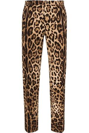 Dolce & Gabbana Uomo Eleganti - Pantaloni con stampa