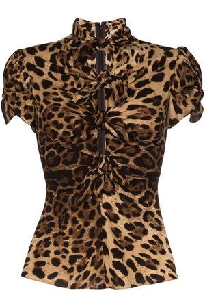 Dolce & Gabbana Donna Camicie - Camicia con stampa - Di colore