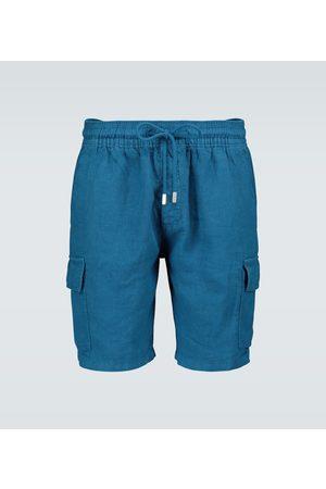 Vilebrequin Shorts cargo Baie in lino