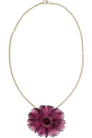 Irene Neuwirth Collana in oro 18kt One-Of-A-Kind Tropical Flower