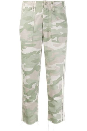 Mother Jeans con stampa camouflage Shaker Chop