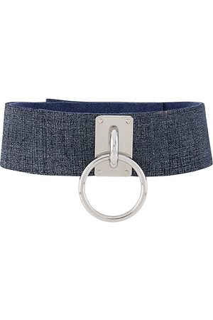 Manokhi Choker denim