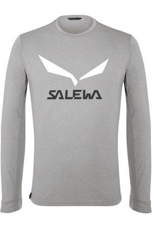 Salewa Solidlogo Dry - maglia a maniche lunghe - uomo. Taglia 46
