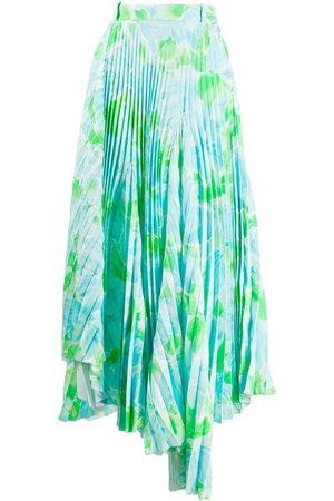 Balenciaga Donna Gonne - Gonna plissettata a fiori Dynasty