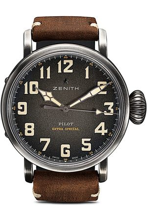 Zenith Orologio Pilot Type 20 Extra Special Ton-Up 45mm - C801 Slate Grey B Brown Oily