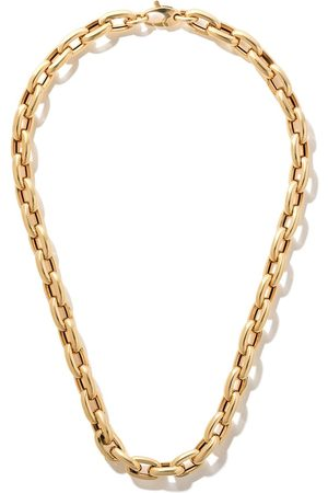 AS29 Donna Collane - Collana a catena in bianco 18kt