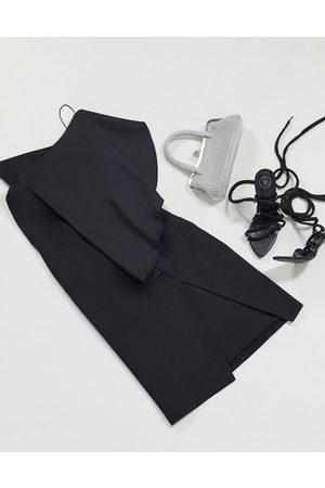 AQ AQ Vestito a fascia monospalla