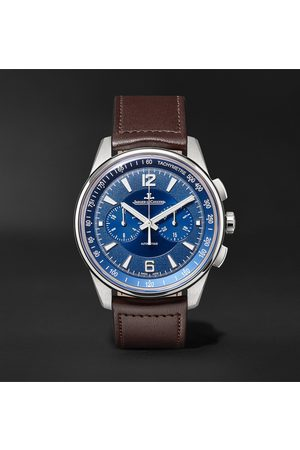 Jaeger-LeCoultre Uomo Orologi - Polaris Automatic Chronograph 42mm Stainless Steel and Leather Watch, Ref. No. 9028480