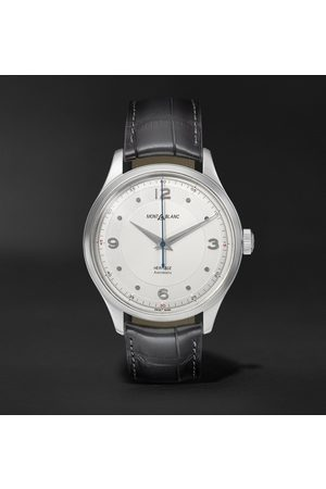 Mont Blanc Uomo Orologi - Heritage Automatic 40mm Stainless Steel and Alligator Watch, Ref. No. 119943