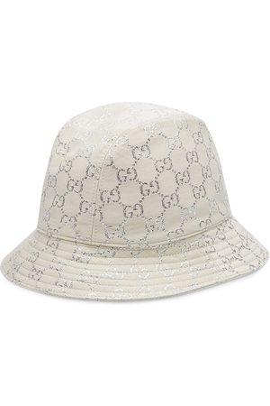 Gucci Cappello bucket con logo jacquard