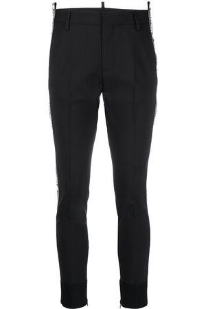 Dsquared2 Pantaloni slim con stampa - Di colore