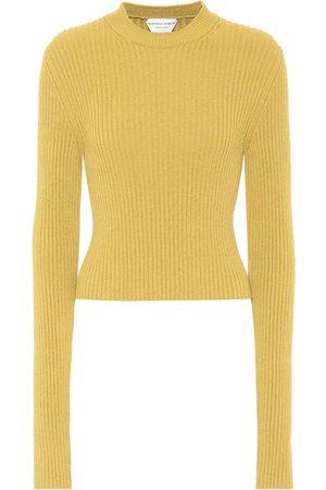 Bottega Veneta Pullover a costine in maglia stretch