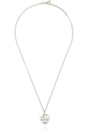 Gucci Collana Blind For Love in sterling - SILVER