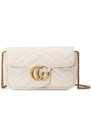 Gucci Donna Borse a mano - Mini borsa GG Marmont in pelle matelassé