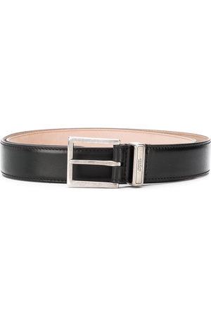 Alexander McQueen Cintura con logo inciso