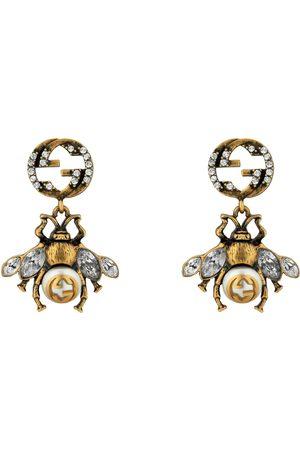Gucci Donna Orologi - Orecchino con ape e dettaglio GG