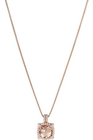 David Yurman Collana con pendente in oro rosa 18kt Châtelaine - D8RAMODI