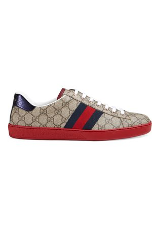 Gucci Sneaker Ace uomo in tessuto GG Supreme