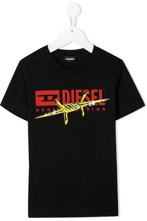 Diesel T-shirt con stampa - Di colore