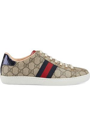 Gucci Sneakers Ace GG Supreme - Toni neutri