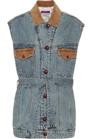 Serafini Gilet di jeans