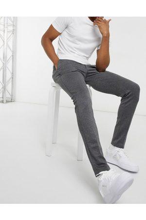 Jack & Jones Intelligence - Pantaloni slim in jersey grigi