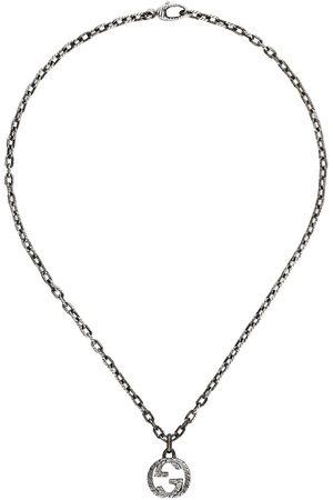 Gucci Collana con pendente GG - Effetto metallizzato