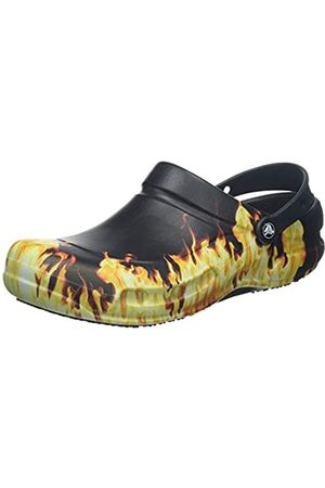 Crocs Bistro Graphic Clog Mlt, Zoccoli Unisex - Adulto, Nero , 48/49 EU