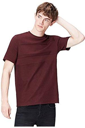 FIND Uomo Polo - Marchio Amazon - T-Shirt con Pannelli a Contrasto Uomo, , S, Label: S