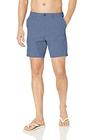 "28 Palms 7"" Inseam Hybrid Board Short Shorts, Blue Heather, 31"
