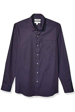 Goodthreads Marchio Amazon - , camicia da uomo, a maniche lunghe, popeline elasticizzato e comodo, facile da lavare, Slim Fit, Raissa metallizzate, X-Large Tall