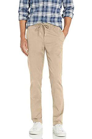 "Goodthreads Slim-Fit Washed Chino Drawstring Pant Pantaloni, , XXX-Large/32"" Inseam"