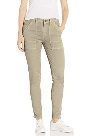Daily Ritual Stretch Cotton/Lyocell Zip-Pocket Utility Pant Work Pants, Sabbia, US 14