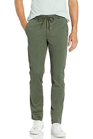 """Goodthreads Slim-Fit Washed Chino Drawstring Pant Casual-Pants, Jacky's, X-Large/30"""" Inseam"""