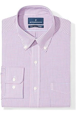 """Buttoned Down Classic Fit Button Collar Pattern Camicia, , 16.5"""" Neck 35"""" Sleeve"""