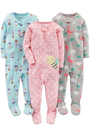 Simple Joys by Carter's Infant-And-Toddler-Pajama-Sets, Ballerina/Moon/Bee, 18 Months