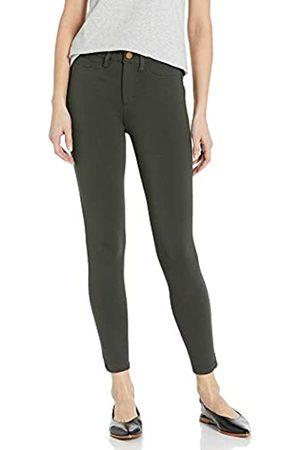 Daily Ritual Ponte Faux-5 Pocket Flat-Front Legging Leggings-Pants, Jacky's, US XXL