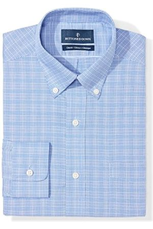 """Buttoned Down Classic Fit Button Collar Pattern Camicia, , 20"""" Neck 34"""" Sleeve"""