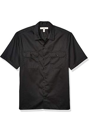 Amazon Uomo Casual - Short-Sleeve Stain And Wrinkle-Resistant Work Shirt Button-Down-Shirts, Cruz V2 Fresh Foam, US