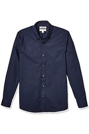 Goodthreads Marchio Amazon - , camicia da uomo, a maniche lunghe, popeline elasticizzato e comodo, facile da lavare, Slim Fit, Dainty, US M
