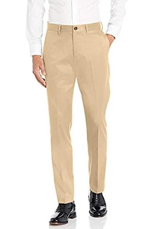 Buttoned Down Athletic Fit Non-Iron Dress Chino Pant Pants, Wheat, 35W x 34L