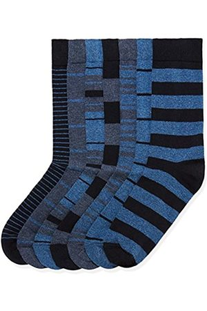 FIND Marchio Amazon - 7 Pack Ankle Sock, Calze Uomo, , 44-47 EU, Label: 10-12 UK