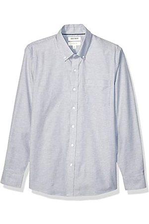 Goodthreads Slim-Fit Long-Sleeve Stretch Oxford Shirt Camicia, Uomo, Grey, 2XL