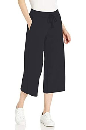 Amazon French Terry Fleece Wide-Leg Crop Sweatpant Athletic-Pants, , US L