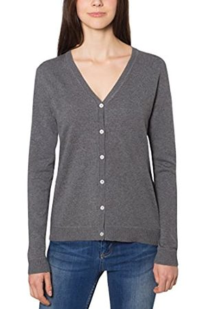Berydale Donna Cardigan - Veste en tricot avec patte de boutonnage et encolure en V pour femmes, , 36