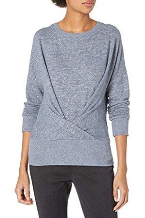 Daily Ritual Cozy Knit Pleat Front Drappeggiato Felpa Fashion-Sweatshirts, , US M