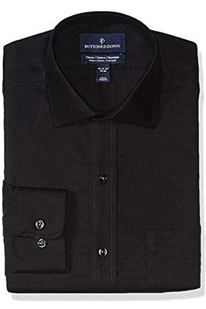 "Buttoned Down Classic-Fit Stretch Twill Non-Iron Dress Shirt Shirts, Cruz V2 Fresh Foam, 17.5"" Neck 36"" Sleeve"