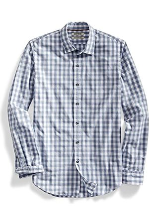 Goodthreads Slim-Fit Long-Sleeve Large-Scale Gingham Shirt Camicia